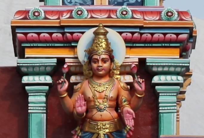 Lord Chandra described in Chandra Ashtottara Shatanamavali or 108 names