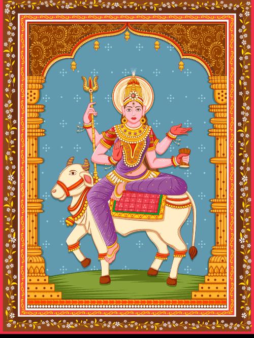 Goddess Maa Mahagauri Mata