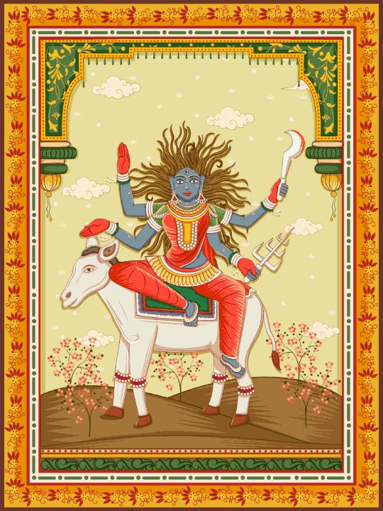 Maa Kalaratri Devi image