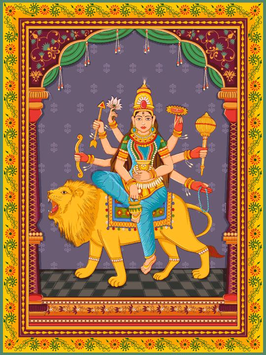 Maa Kushmanda Devi image