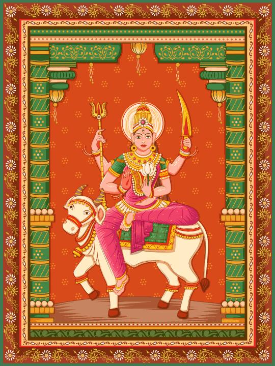 Maa Shailaputri Devi Goddess