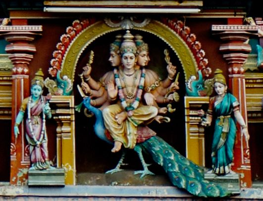 Lord Subramanya as described in Subramanya pancharatnam
