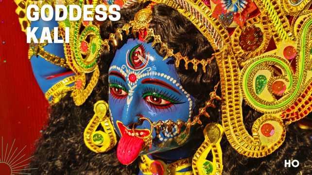 Goddess Kali also called Maa Kali