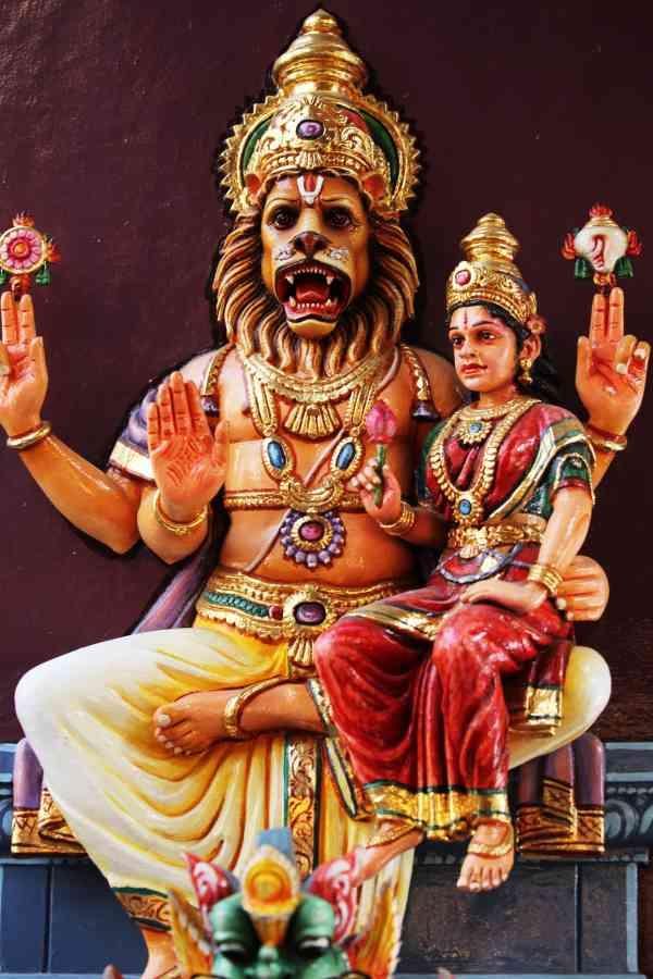Lakshmi Narasimha Karavalamba stotram Lord Lakshmi Narasimha