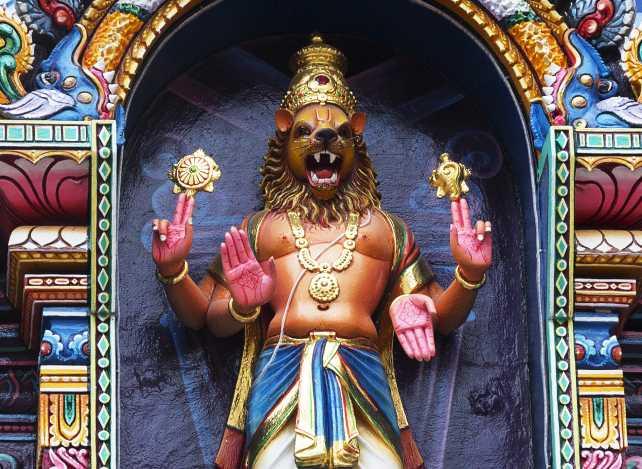 Lord Narasimha - Runa vimochana narasimha stotram