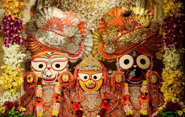 Lord Jagannath as in Jagannath Ashtakam