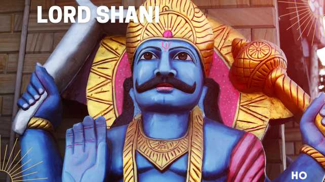 Lord Shani dev as described in 108 names of Shani